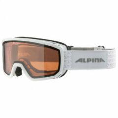 Alpina - Scarabeo S Quattroflex Hicon S2 - Skibril grijs/bruin