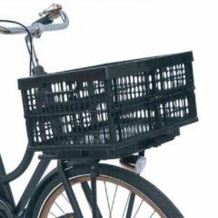 Hype Plates 4 Bikes opvouwbaar fietskrat afneembaar zwart click slide en go multifunctionele bevestigingsplaat 32 liter