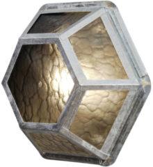 Konstsmide Castor 533-320 Buitenlamp (wand) Energielabel: Afhankelijk van de lamp Spaarlamp, LED E27 60 W Staal