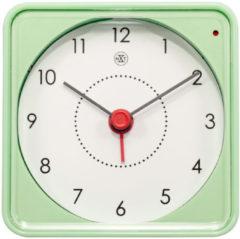 NeXtime Alarmklok nXt Nathan 7.3 x 7.3 x 3.3 cm groen