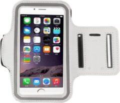 Go Go Gadget Sport Armband - Universeel - Verstelbaar - Hardlooparmband - Spatwaterdicht - Bescherming - Lichtgewicht - 85 x 165 mm (5,5 inch) - Wit