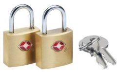 Design Go Go Travel Gepäckzubehör Solid Safe Secure TSA-Schlüsselschloss 2-tlg.