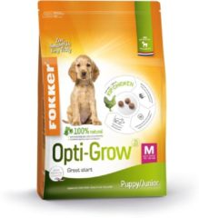 13 kg Fokker opti-grow puppy / junior medium hondenvoer
