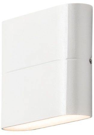 Afbeelding van Witte Konstsmide 7972 - Wandlamp - Chieri PowerLED 230V flush twinlight - 11x9cm - 2x 3W - warmwit 3000K - matwit