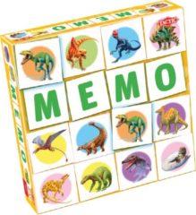 Tactic memory Dino Memo 22 x 22 cm karton 54-delig