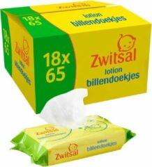 Zwitsal Billendoekjes Babydoekjes Lotion Voordeelverpakking - 1170 Stuks