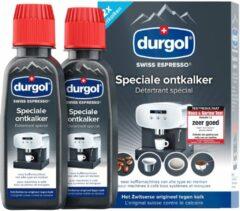 Durgol SWISS ESPRESSO 2 X 125 ML + 125 M anti-kalk Koffie accessoire