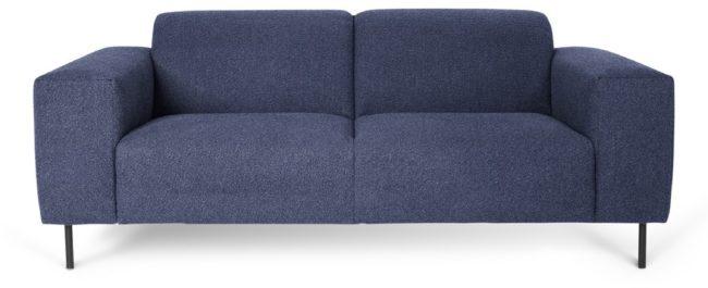 Afbeelding van I-Sofa George - 2,5 zitsbank - Donkerblauw