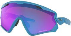 Oakley Wind Jacket 2.0 Sonnenbrille - Blau