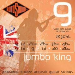 Rotosound JK30SL Jumbo King akoestische gitaarsnaren .009-.046w