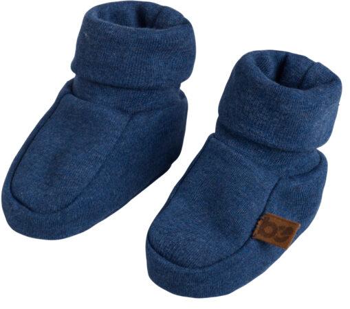 Afbeelding van Blauwe Baby's Only Melange slofjes mt 1 jeans