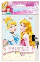 Disney Princess AST0186 DIARIO CON CATENACCIO 17x12 PRINCIPESSE DISNEY