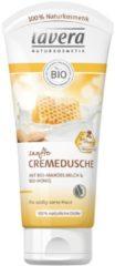 Lavera Körperpflege Body SPA Duschpflege Bio-Mandelmilch & Bio-Honig Sanfte Cremedusche 200 ml