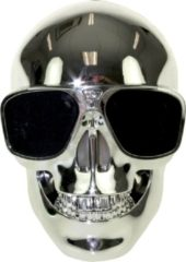 Witte United Entertainment - Skull Draadloze Bluetooth Speaker - Zilver