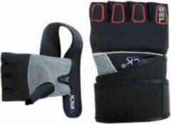 Atipick Handschoenen Mma Neopreen/mesh/nylon Zwart Maat L