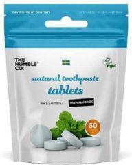 Humble Brush Humble Tandenpoets tabletten met fluoride 60 stuks