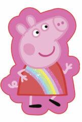 Carbotex sierkussen Peppa Pig meisjes 35 cm polyester roze