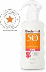 Zonnebrand kind - Biodermal Zon Kids - Zonnespray - SPF 50+ - 175 ml