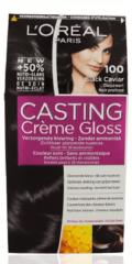 Zwarte L'Oréal Paris LâOréal Paris Casting Crème Gloss haarkleuring - 100 Black Caviar