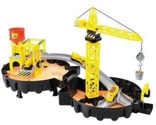Afbeelding van Huismerk Toi-Toys Hijskraan Station Speelgoed - Constructie Set
