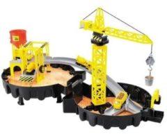 Huismerk Toi-Toys Hijskraan Station Speelgoed - Constructie Set