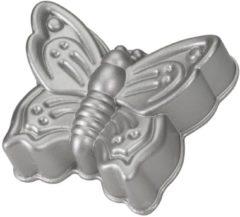 Grijze Nordic Ware Butterfly Cake Bakvorm