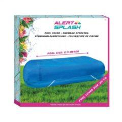 Blauwe Splash Afdekhoes Zwembad 211 Cm afdekzeil