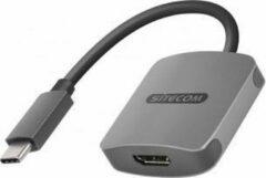 Sitecom CN-375 kabeladapter/verloopstukje USB-C HDMI, USB-C Grijs