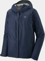 Marineblauwe Patagonia Men's Torrentshell 3 Laags Jacket