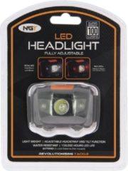 NGT Led Headlight 100 Lumen - LED -100 Lumen - Verstelbare hoek - Zwart