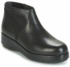 Zwarte Boots en enkellaarsjes Dessa K400204 by Camper