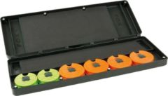 Fox F Box Large Disc & Rig Box System - Incl. Pins and Discs - Opbergbox - Groen