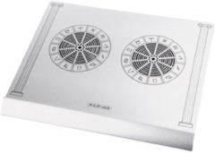 Zilveren König Konig Notebook Koeler (usb 2.0)