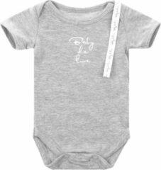 Baby de Luxe Rompertje k/m licht grijs 0-3 mnd