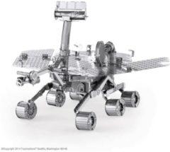 Zilveren Metal Earth Mars rover 3D modelbouwset