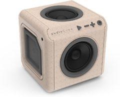 Zwarte Allocacoc AudioCube - Bluetooth - Bruin/Grijs