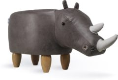 Grijze Feel Furniture Animal chair - Neushoorn