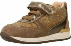 Bruine Lage Sneakers Geox B RISHON GIRL
