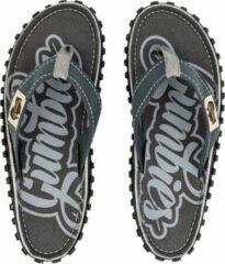 Grijze Gumbies - heren slipper - ISLANDER CANVAS FLIP-FLOPS - COOL GREY - Maat 46