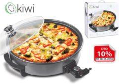 Zwarte Kiwi Pizzapan 30cm 1500W KPP5402