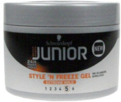 Junior Power Styling Schwarzkopf Junior Powerstyling Style 'N Freeze Gel Extreme Hold 200 ml