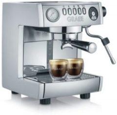 Graef ES 850 Vrijstaand Half automatisch Espressomachine 2.5l 2kopjes Zilver koffiezetapparaat