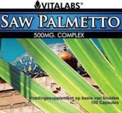 Vitalabs VitaTabs Saw Palmetto Complex - 500 mg - 100 capsules - Voedingssupplementen