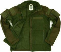 Merkloos / Sans marque Legergroen combat vest fleece M