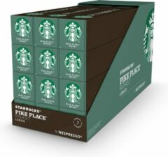 Starbucks by Nespresso capsules Pike Place Medium Roast - 12 doosjes à 10 koffiecups