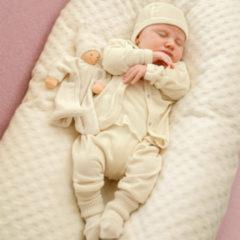 Minibär DESIGN Basis babykleding-uitzet bio-katoen, onbehandeld 50/56