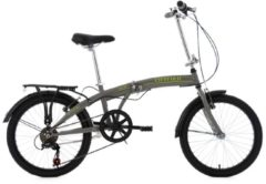 KS Cycling Faltrad, 20 Zoll, 6 Gang Shimano-Tourney-Kettenschaltung, »Cityfold«