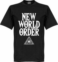 Retake New World Order T-Shirt - Zwart - XXL