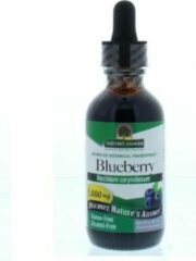 Natures answer Blauwe Bes extract 1:1 alcoholvrij 1000 mg