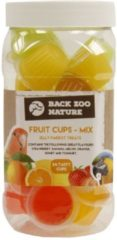 Back zoo nature Zoofaria Fruitkuipje Papegaai Vogelsnack - Mix - 24 Stuks
